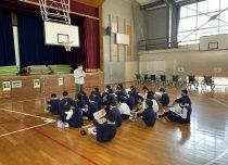 福祉体験学習㏌乃木小学校